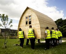Garden pod donated by Kikrlees college